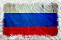 Флаг grunge России стоковая фотография