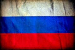 Флаг grunge России стоковое фото rf