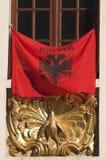 флаг kosovian Стоковое Фото