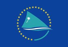 флаг pacific общины иллюстрация вектора