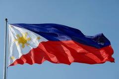 флаг philippines Стоковое фото RF