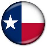 флаг texas кнопки Стоковая Фотография