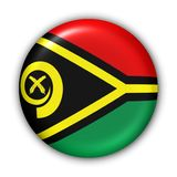 флаг vanuatu Стоковая Фотография