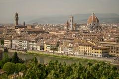 Флоренс, Италия - 24-ое апреля 2018: взгляд на Cattedrale di Санте Маме Стоковое Изображение
