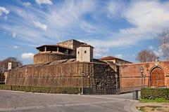 Флоренс, Тоскана, Италия: старый Basso Fortezza da форта стоковая фотография rf