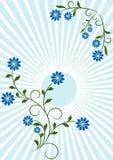 Флористическая абстрактная предпосылка Стоковые Изображения RF