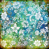 Флористическая абстракция Стоковые Изображения