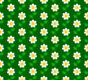Флористическая безшовная картина иллюстрация штока