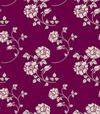 флористическая безшовная текстура Стоковое Изображение
