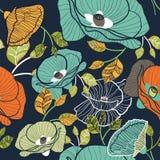 флористическая безшовная текстура Стоковая Фотография RF