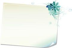 флористическая бумага рамки Стоковые Фотографии RF