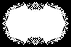 Флористическая декоративная черные & белые граница фото/край Тип текст внутрь, использует как верхний слой или для маски слоя/кли иллюстрация штока