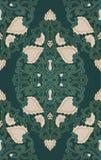 флористическая зеленая картина Стоковые Изображения RF