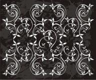 Флористическая иллюстрация лозы с   Стоковые Изображения