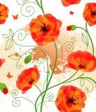 флористическая картина безшовная