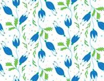 Флористическая картина вектора Стоковое Изображение