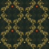 Флористическая картина вектора Стоковое Изображение RF