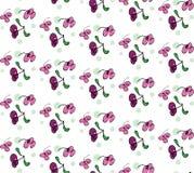 Флористическая картина вектора Стоковое фото RF