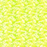 Флористическая картина на желтой предпосылке Стоковая Фотография