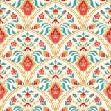 Флористическая картина плитки Стоковые Изображения RF