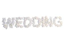 флористическая надпись Стоковые Изображения