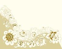 флористическая орнаментальная картина Стоковое фото RF