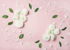 Флористическая предпосылка с цветками лютика Стоковое фото RF
