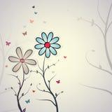 Флористическая предпосылка Стоковое фото RF