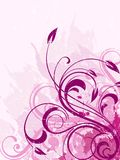 Флористическая предпосылка стоковое изображение rf