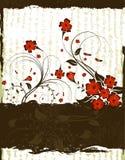 флористическая рамка Стоковое фото RF