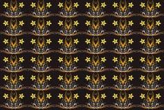 флористическая стеклянная картина Стоковая Фотография