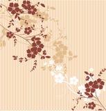 флористическая текстура Стоковое Изображение