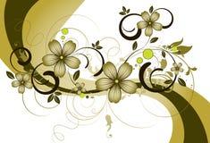 флористическая тема Стоковое Изображение RF