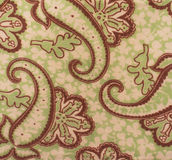 Флористическая ткань Стоковое Изображение
