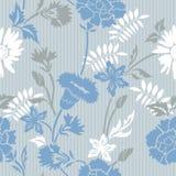 флористическая striped картина Стоковые Фотографии RF