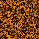 флористические безшовные обои вектора Стоковые Фотографии RF
