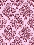 флористические безшовные обои вектора Стоковая Фотография