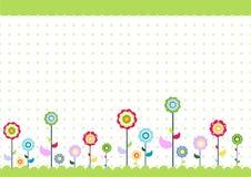 флористические малыши Стоковая Фотография RF