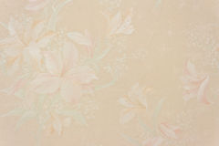 флористические обои сбора винограда пинка перлы Стоковая Фотография