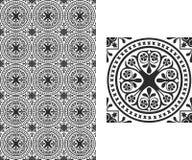 Флористические обои Стоковое Изображение RF