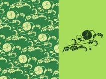Флористические обои Стоковые Фотографии RF