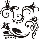 флористические орнаменты Стоковое Изображение