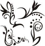 флористические орнаменты иллюстрация штока