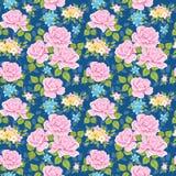 флористические розы картины безшовные Стоковое Изображение RF