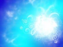 Флористические феиэрверки Стоковая Фотография RF