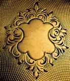 флористические часы орнамента крышки Стоковое Фото