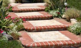 флористические шаги Стоковое Фото