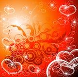 флористические valentines сердец Стоковая Фотография RF