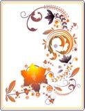 флористический вектор иллюстрации Стоковая Фотография