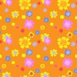флористический вектор картины Стоковое Изображение